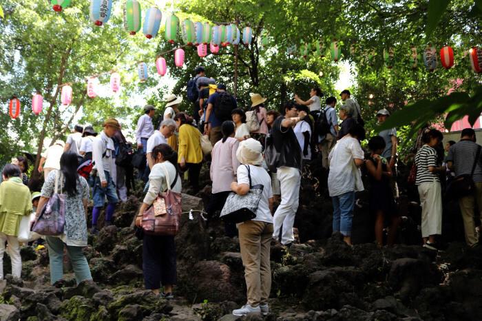 お山開きの日に東京で富士登山_c0060143_10204532.jpg
