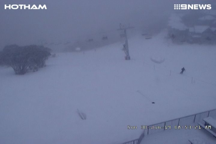 2019年6月30日 Australia・Hotham Snow Resortの様子_e0037849_08004104.jpg