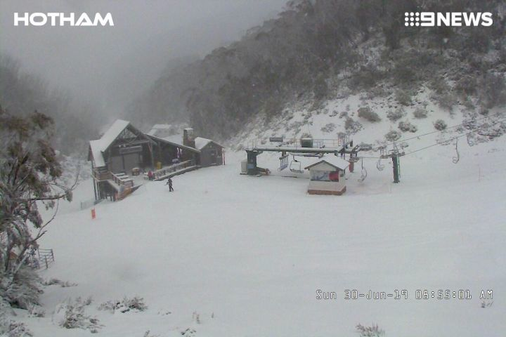2019年6月30日 Australia・Hotham Snow Resortの様子_e0037849_08004269.jpg