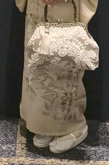 ファッションカンタータParty・単衣の付け下げ、自作のバッグ。_f0181251_16071646.jpg