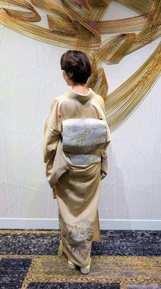 ファッションカンタータParty・単衣の付け下げ、自作のバッグ。_f0181251_16090720.jpg