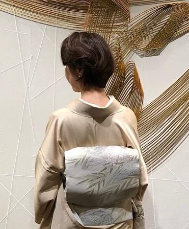 ファッションカンタータParty・単衣の付け下げ、自作のバッグ。_f0181251_16094924.jpg