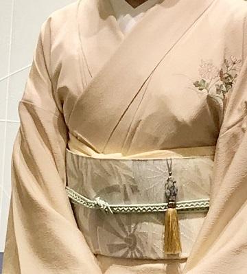 ファッションカンタータParty・単衣の付け下げ、自作のバッグ。_f0181251_16122091.jpg