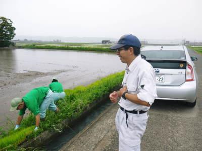 健康農園さんの令和元年の田植えの様子!菊池農業高校生さん達と共に!今年も無農薬栽培で育てます!前編_a0254656_16221606.jpg
