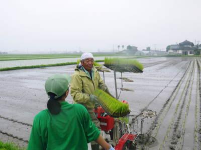 健康農園さんの令和元年の田植えの様子!菊池農業高校生さん達と共に!今年も無農薬栽培で育てます!前編_a0254656_16390532.jpg