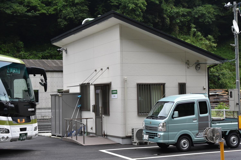 浜田車庫 : バス車庫めぐり