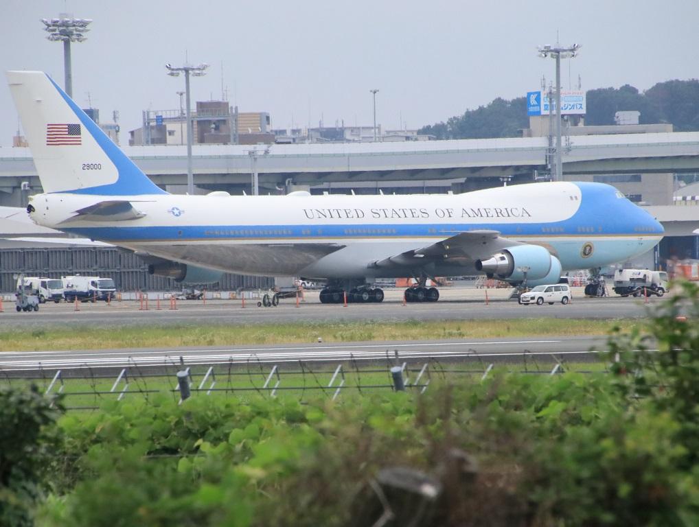 VC-25 エアーフォースワン 伊丹空港_d0202264_759149.jpg