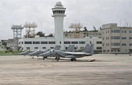 沖縄ひとりっぷ~那覇空港で、戦闘機_c0100865_13141967.jpg