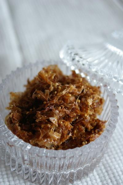 梅干しと塩麹と鰹佃煮_d0327373_09035025.jpg