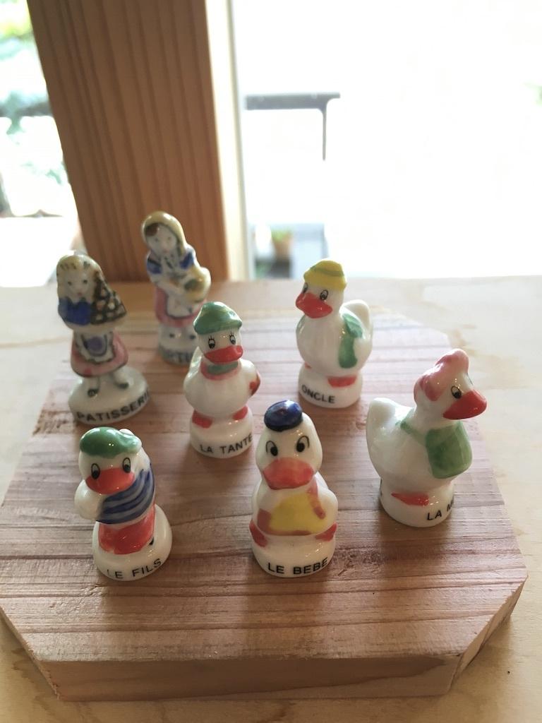 『豆軍配ナズナのリース』&『おまけのミニュチュア人形』_c0334574_20014821.jpg