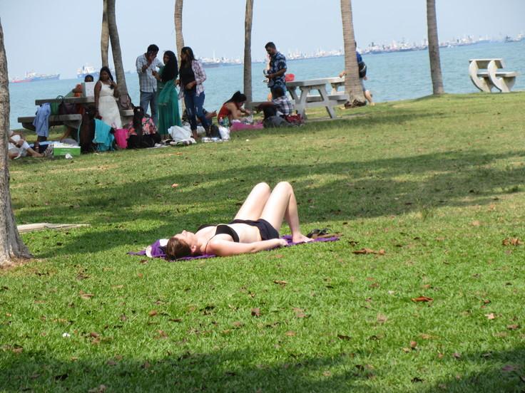 East Coast はシンガポール人の憩いの場です!_c0212604_2075438.jpg