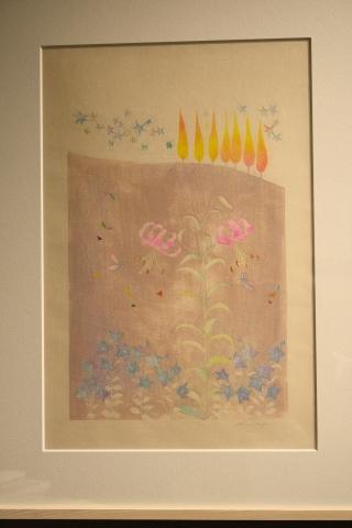 沙羅 木版画原画展 「森の中の扉」_a0260022_16400295.jpg