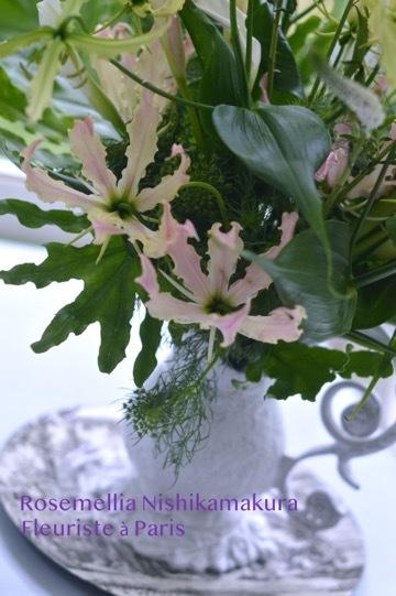Paris Style flower Arrangement Lesson_d0078355_20201015.jpg
