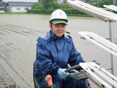 健康農園さんの令和元年の田植えの様子!菊池農業高校生さん達と共に!今年も無農薬栽培で育てます!後編_a0254656_19155753.jpg