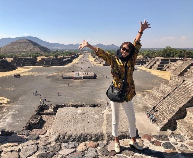 中南米の旅/66 月のピラミッド@メキシコ・テオティワカン遺跡_a0092659_17004131.jpg
