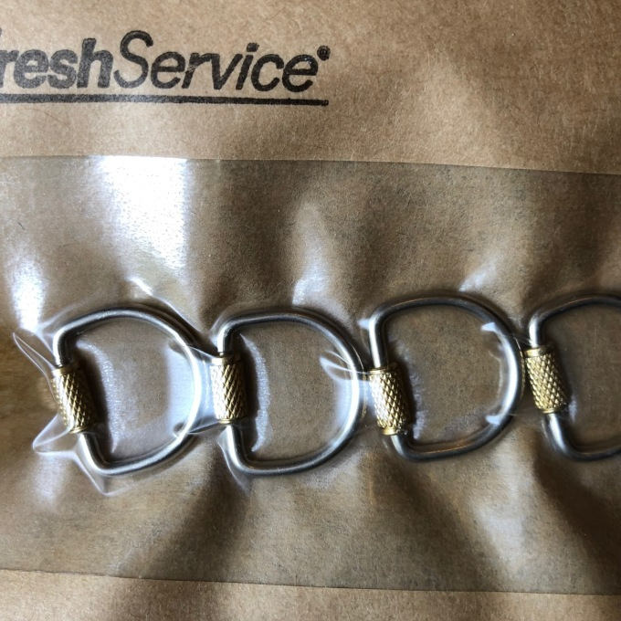 Fresh Service (フレッシュサービス) Key Ring_d0334060_17051996.jpg