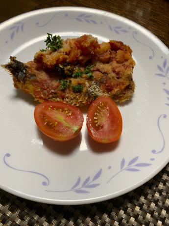 イタリアン風イワシ料理🎶_a0077071_11430050.jpg
