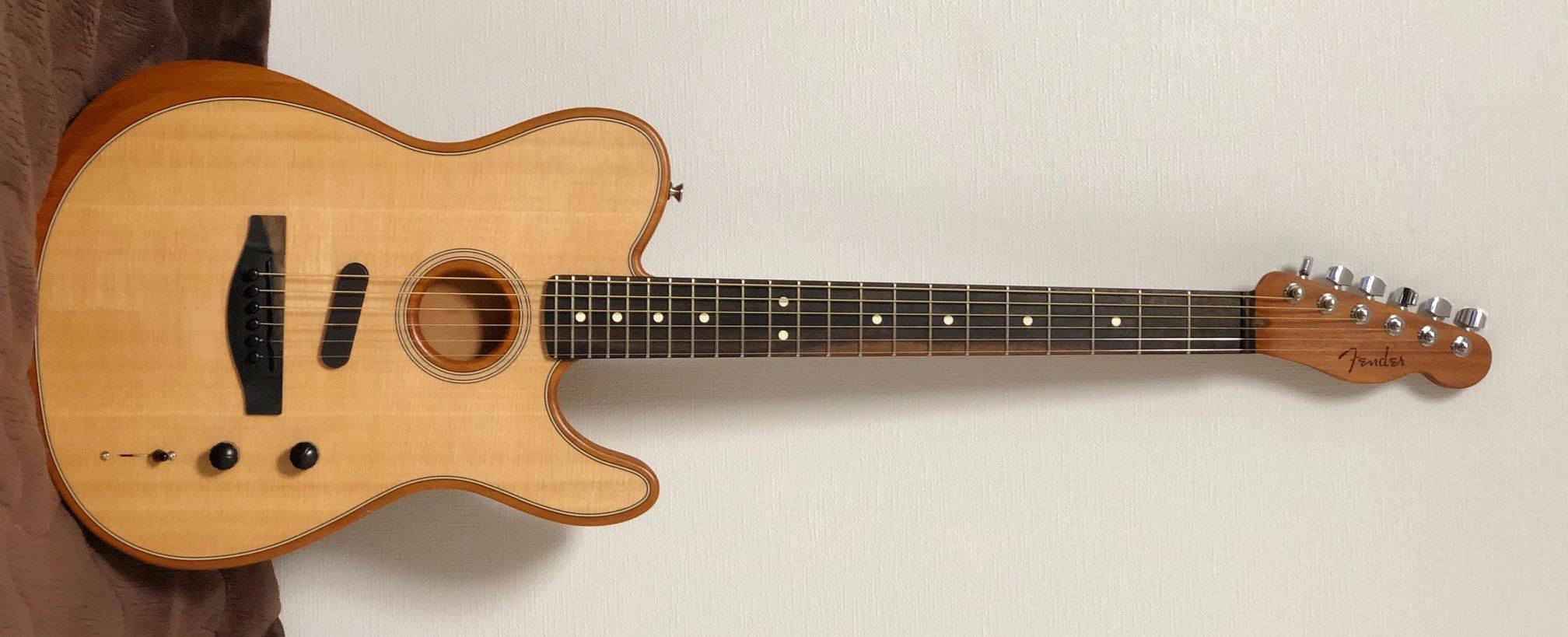 """Fender""""American Acoustasonic Telecaster""""_e0052576_00024134.jpg"""