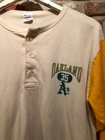 """1980s \"""" CHAMPION \"""" - trico tag - SET IN SLEEVE Vintage BASE BALL Tee SHIRTS ._d0172088_17471222.jpg"""