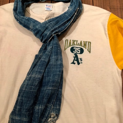"""1980s \"""" CHAMPION \"""" - trico tag - SET IN SLEEVE Vintage BASE BALL Tee SHIRTS ._d0172088_21363739.jpg"""