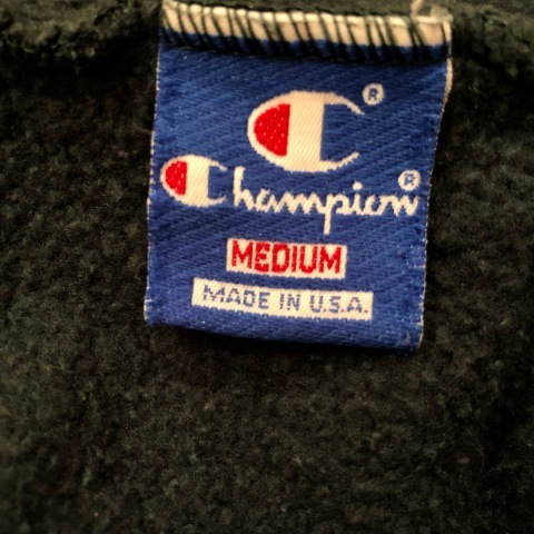 """1980s \"""" CHAMPION \"""" - trico tag - SET IN SLEEVE Vintage BASE BALL Tee SHIRTS ._d0172088_21441002.jpg"""