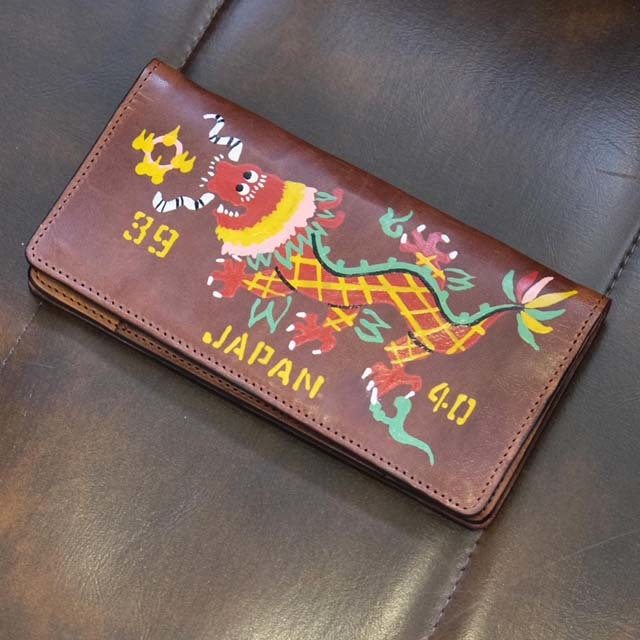 "North No Name Daily Wear SOUVENIR WALLET ""DRAGON"" (HAND PAINT) _c0140709_13352953.jpg"