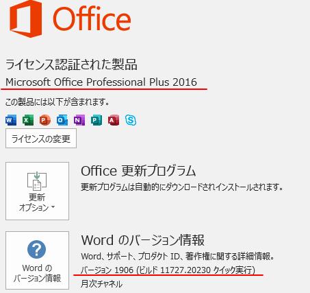 Office2016とOffice2019の一部のタブ名が変わった?!_a0030830_11000281.png