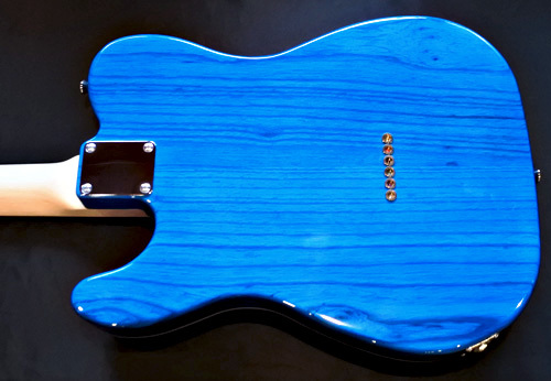 「Moire Night Blue MetallicのStandard-T」1本目が完成!_e0053731_16182960.jpg