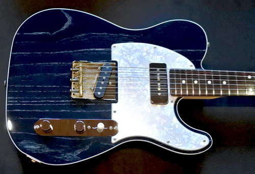 「Moire Night Blue MetallicのStandard-T」1本目が完成!_e0053731_16183244.jpg