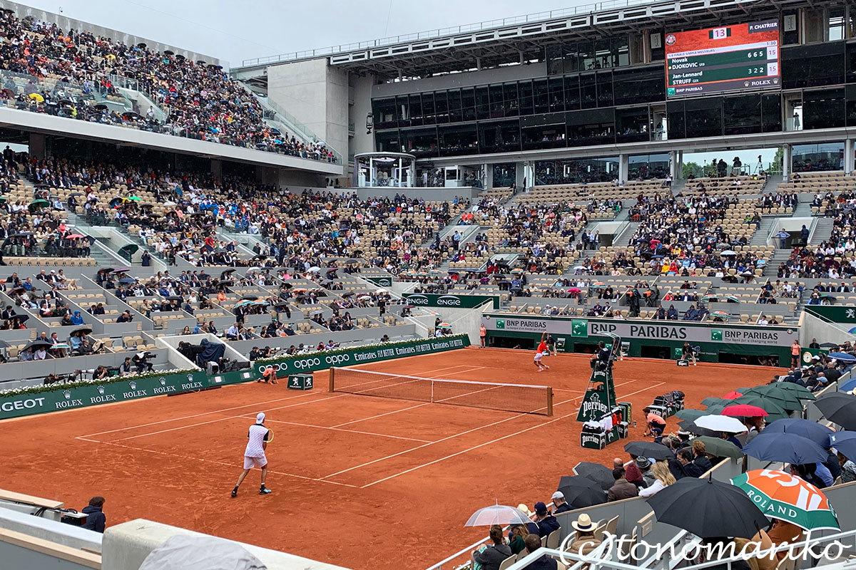 「ローランギャロス」はテニスの試合を見るだけじゃないようだ_c0024345_21232032.jpg