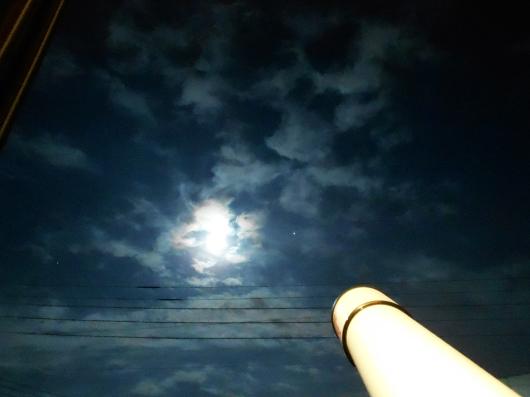 ストロベリームーンと木星_e0256951_23375862.jpg