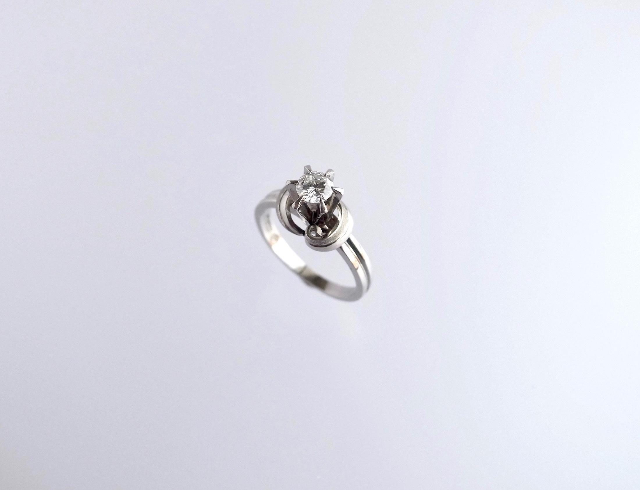 リメイク:ダイヤリング→ダイヤネックレスへ_c0243355_11450751.jpg