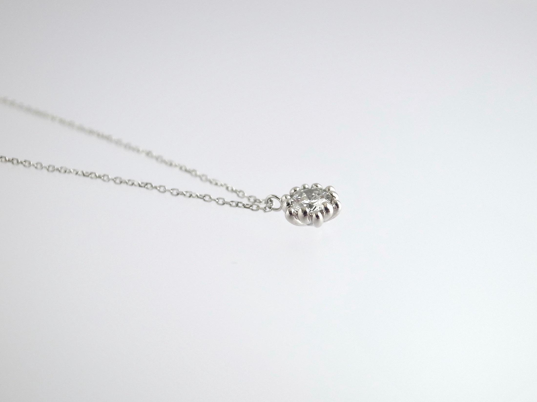 リメイク:ダイヤリング→ダイヤネックレスへ_c0243355_11475369.jpg