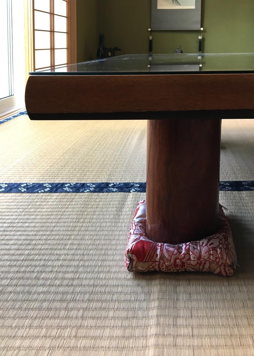 座卓の再生実例 天板の軽量化_d0224984_17244872.jpg