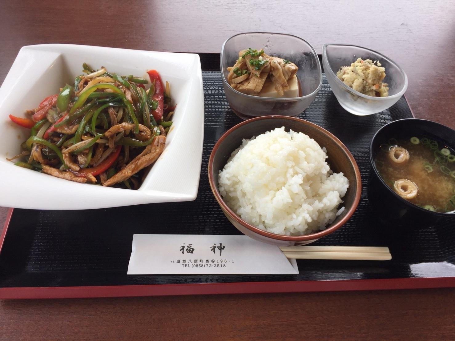 福神喫茶店  ランチ_e0115904_11484425.jpeg