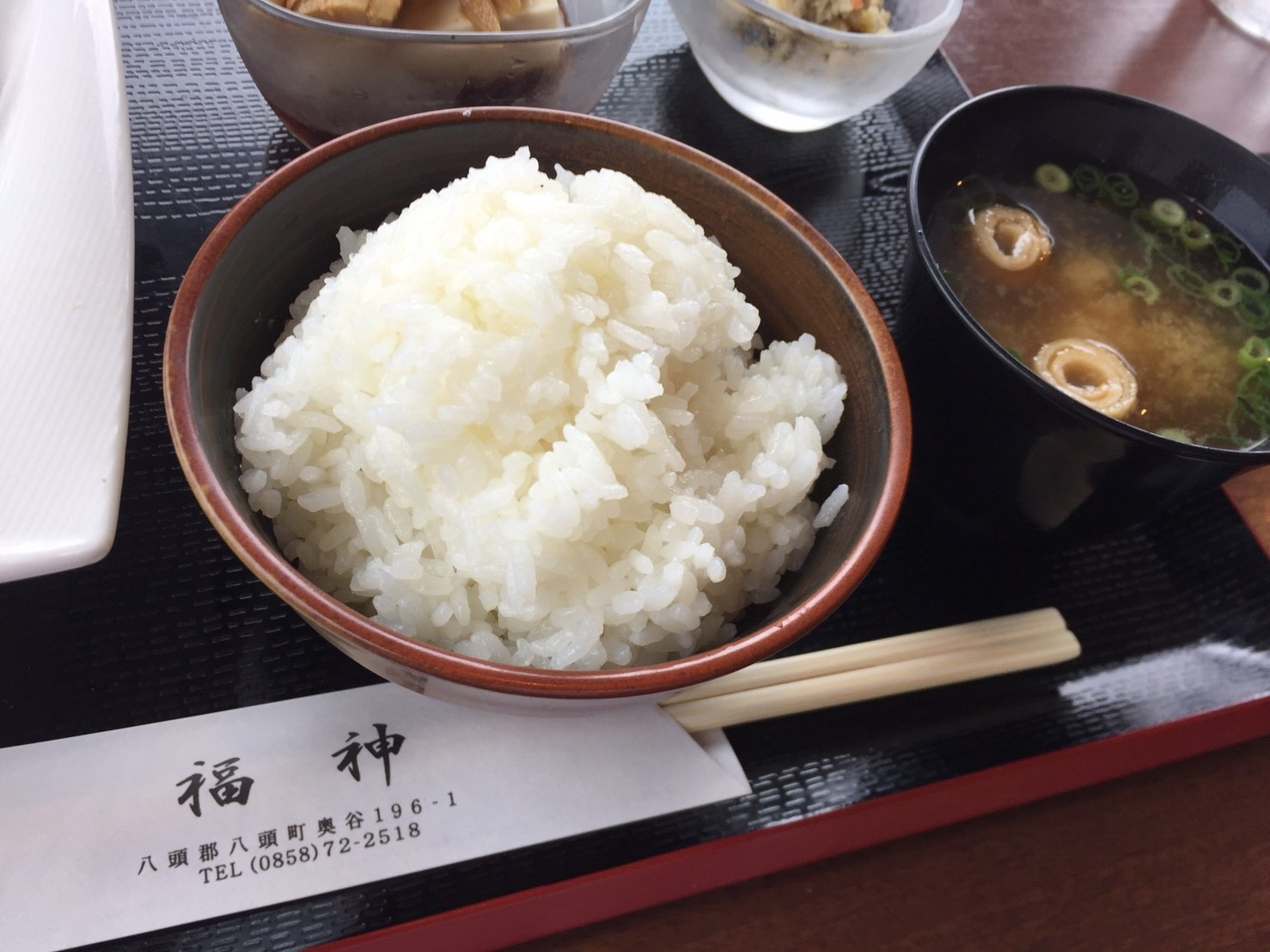 福神喫茶店  ランチ_e0115904_11571701.jpeg