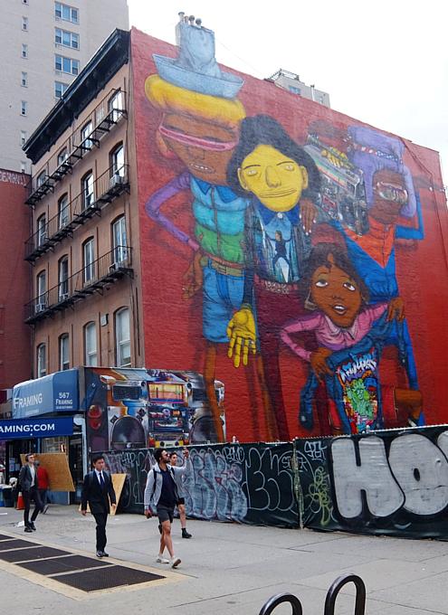 14丁目沿いのOSGEMEOSの巨大壁画、まだ見れます_b0007805_08325234.jpg