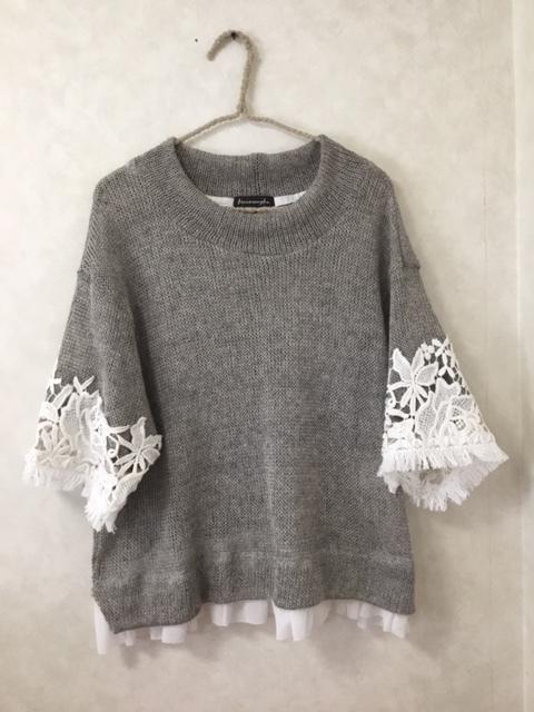 HarmonyKa & YANSU & TRONCHI の summer pullovers!!  _f0238106_22221013.jpeg