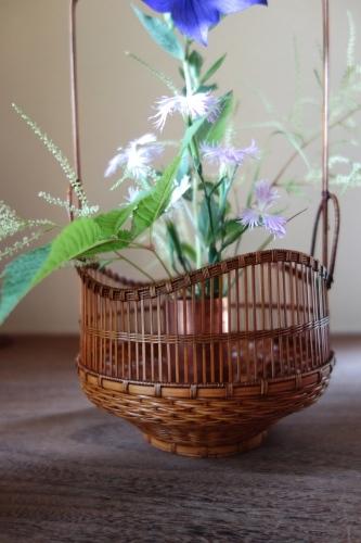 初夏の手付き花籠_a0197730_01542267.jpg