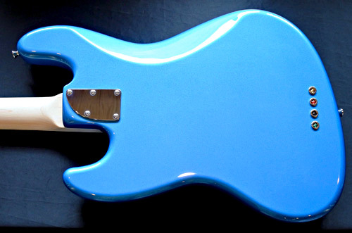 「King Fisher Blue MetallicのStandard-J」1本目が完成!_e0053731_15565093.jpg