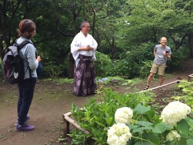 来年に向けての準備に! 葛原岡神社の紫陽花を♪_d0108933_01553504.jpg