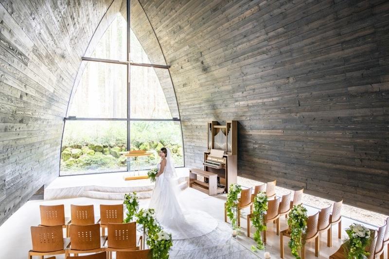 箱根の森高原教会での結婚式_c0084760_18131852.jpg