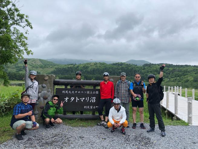 秀岳荘利尻サイクリングツアー2019_d0197762_21033447.jpg