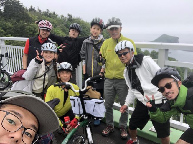 秀岳荘利尻サイクリングツアー2019_d0197762_21323477.jpg