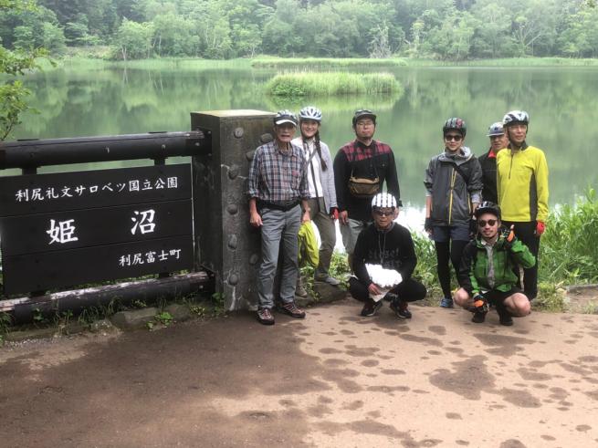 秀岳荘利尻サイクリングツアー2019_d0197762_21354358.jpg