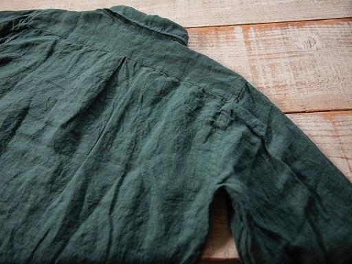 リネン素材のプルオーバー『ラモスシャツ』入荷です!!_d0160378_18324829.jpg
