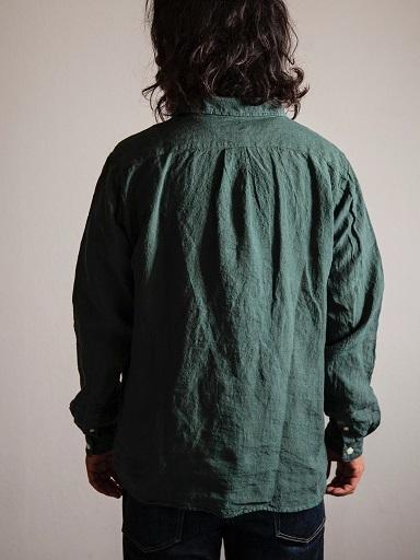 リネン素材のプルオーバー『ラモスシャツ』入荷です!!_d0160378_18330914.jpg