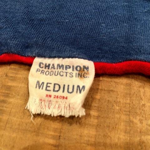 "1960-70s \"" CHAMPION PRODUCTS INC. \"" 100% cotton VINTAGE - REVERSIBLE - PRINT Tee SHIRTS ._d0172088_17582659.jpg"