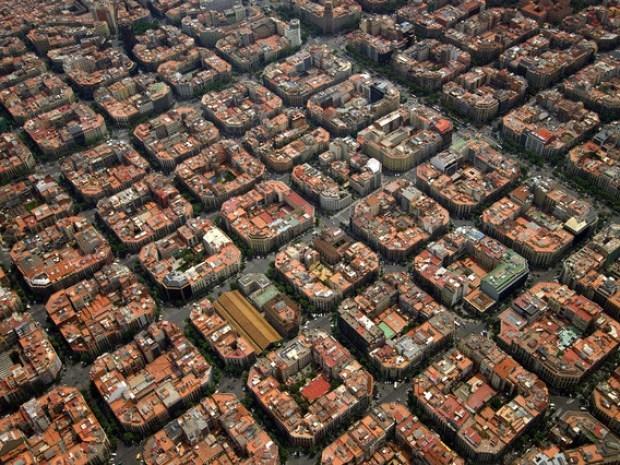 バルセロナの街並み_a0126497_22484003.jpg