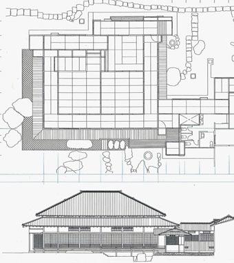 旧岩崎邸和館の深い屋根_c0195909_11433438.jpg